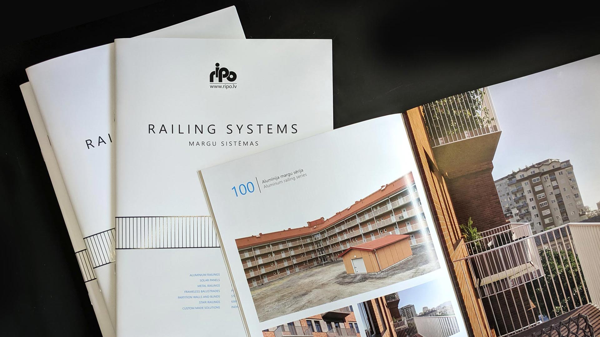 New RIPO railings catalog is here. Take a look!