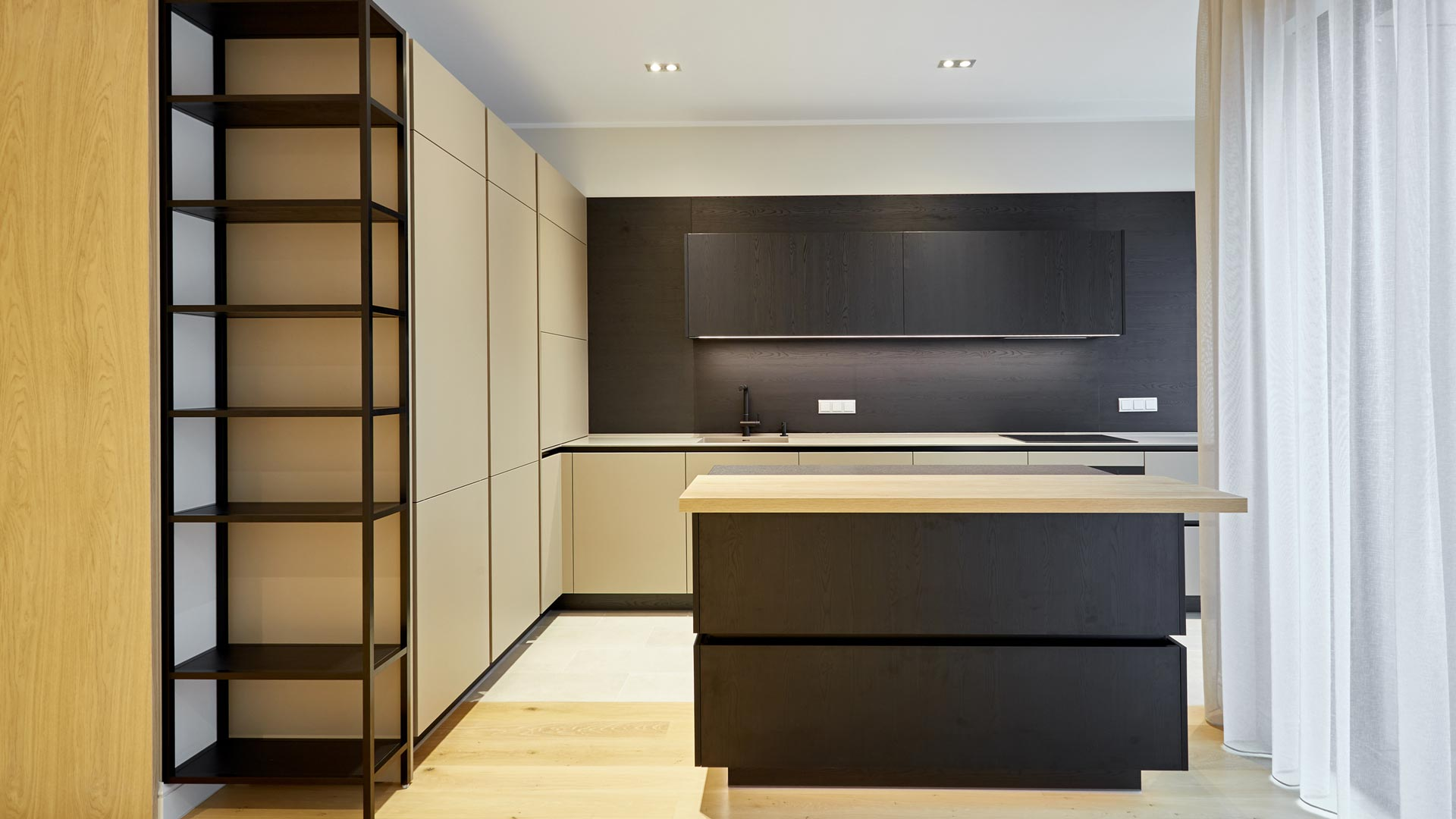 First-class kitchen design by RIPO in the expert-renowned premium building Club Central Residence II