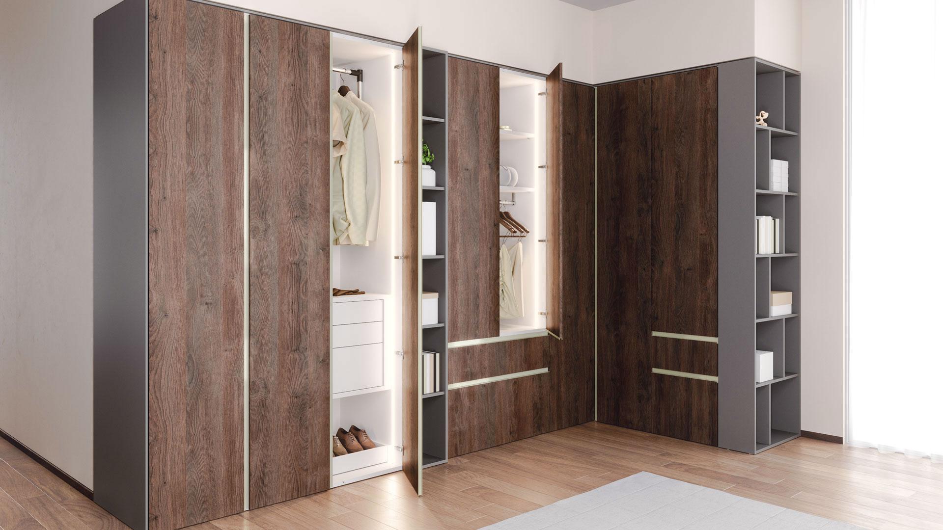 Closet System Verno For Classy Interior Ripo Lv